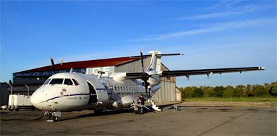 ATR 42 lors de la campagne CHARMEX
