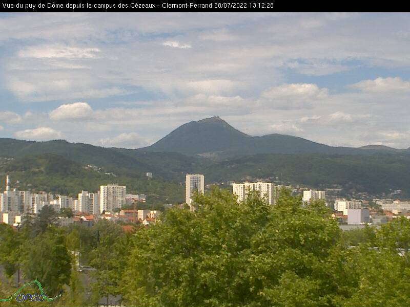 webcam de Clermont-ferrand